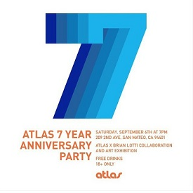 Atlas Skateboards 7 Year Anniversary